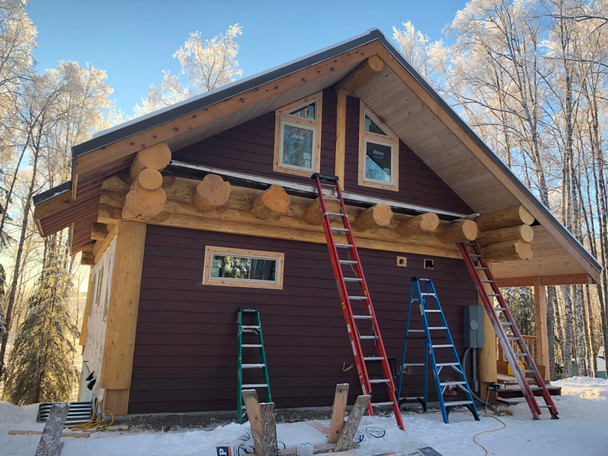 Working on post and beam style home
