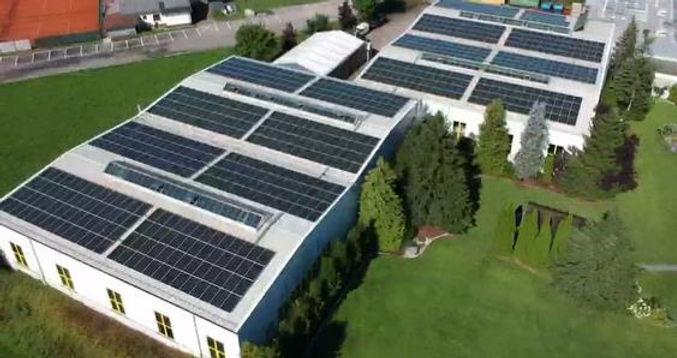 350 kWp-Photovoltaik-Kraftwerk