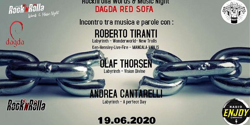 ROBERTO TIRANTI - OLAF THORSEN - ANDREA CANTARELLI @Dagda Red Sofa