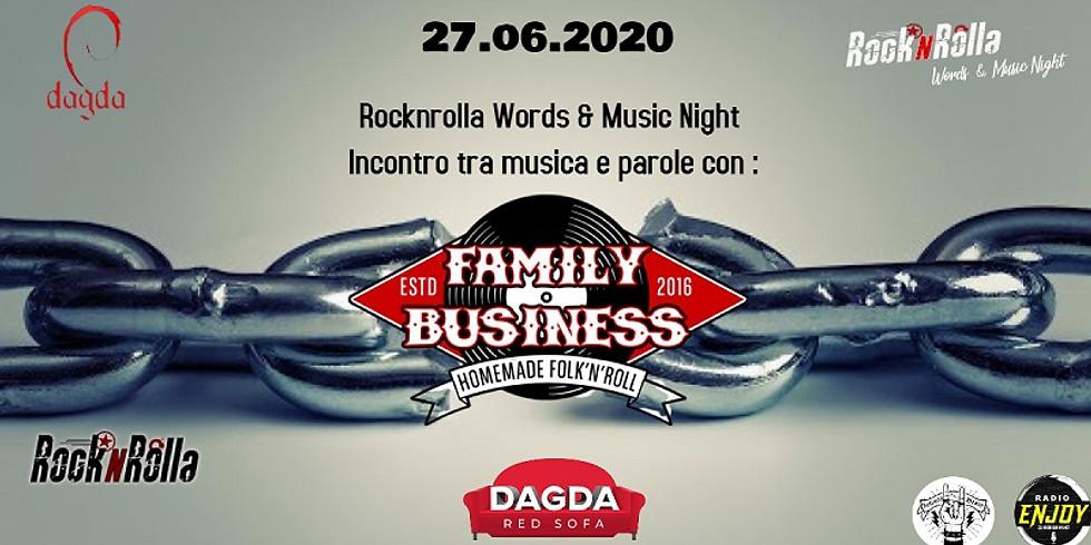 FAMILY BUSINESS DUO @DAGDA LIVE CLUB