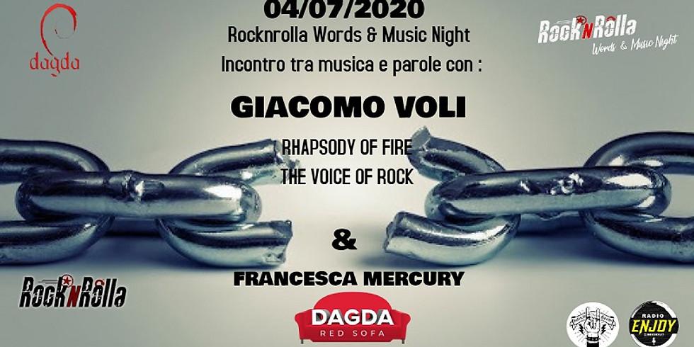 GIACOMO VOLI + FRANCESCA MERCURY @Dagda Red Sofa