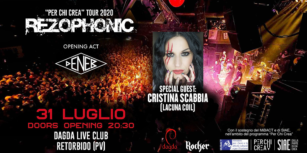 REZOPHONIC / CRISTINA SCABBIA Special Guest