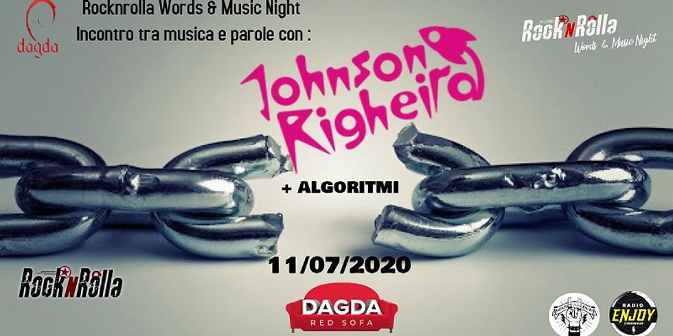 Johnson Righeira + Algoritmi @Dagda Red Sofa