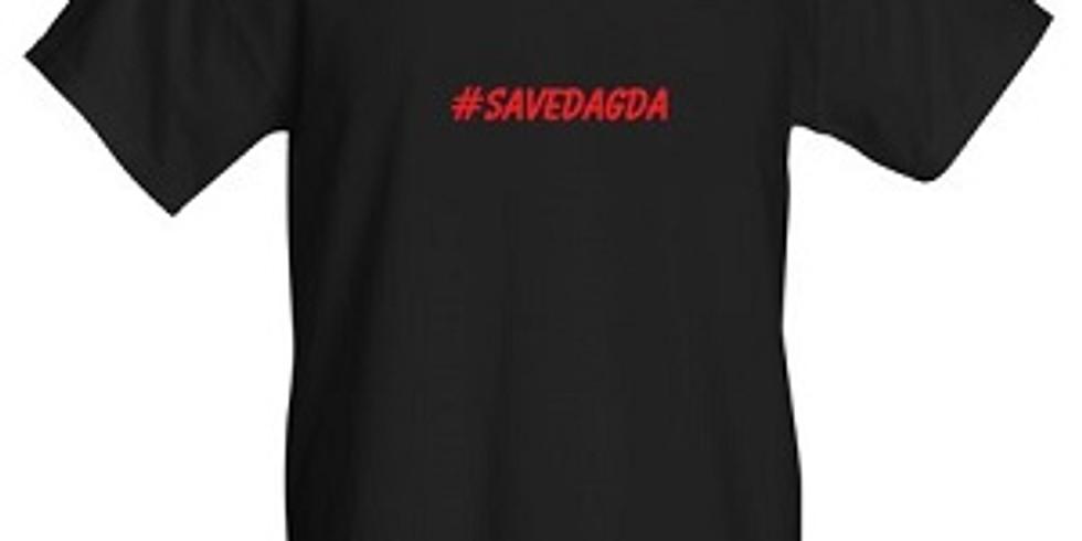 T-SHIRT #SAVEDAGDA