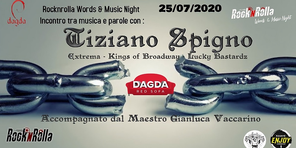 TIZIANO SPIGNO @DAGDA LIVE CLUB