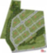 Planta Humanizada 2D de Loteamento
