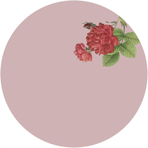 ROSE - Médaillon
