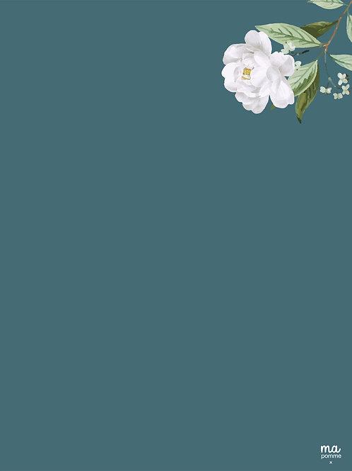BLEU GRIS - Alu dibond