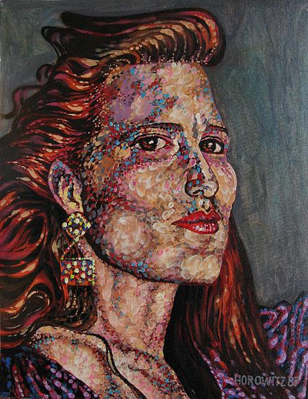 WOMAN IN PURPLE