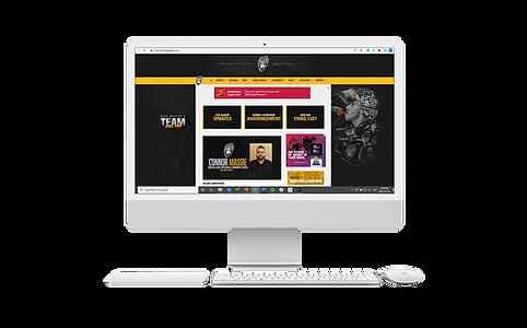 Cape Breton Eagles Website Skin Design