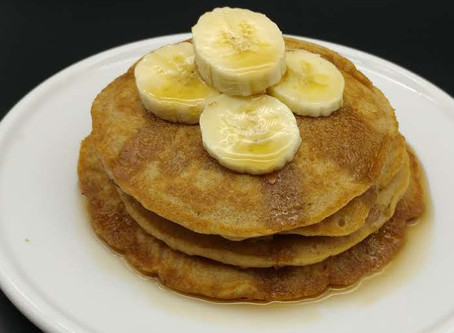 Vegan Whole wheat pancakes