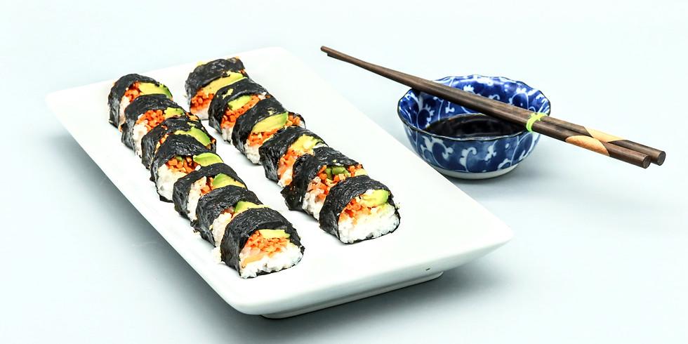 Vegan Sushi Cooking Class