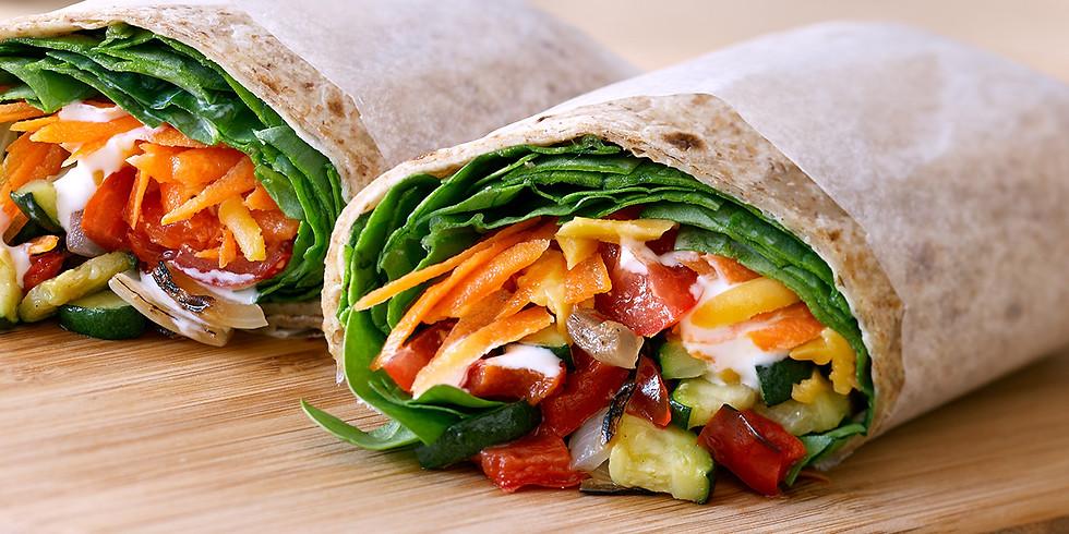 Vegan Wraps Cooking Class
