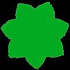 Green-leaves-logo-design-only-flower cle