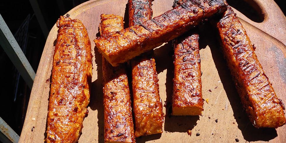 Yummy Vegan BBQ Ribs