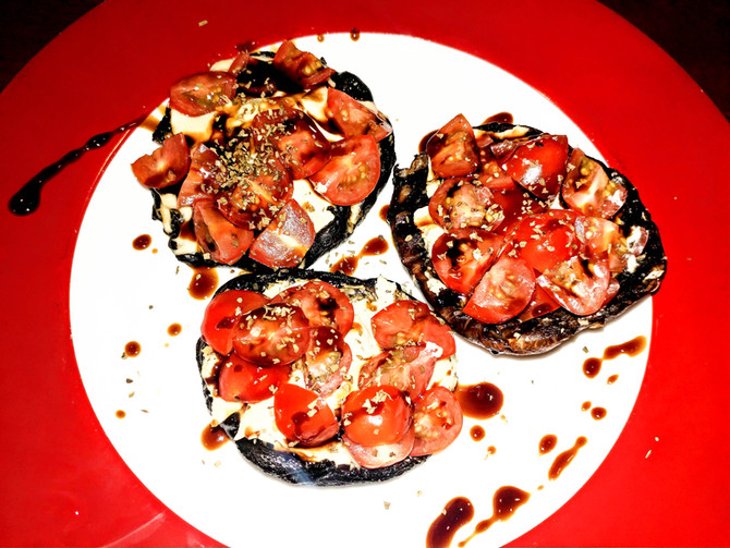 Portobello Mushroom Capresse