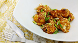 Sweet and Sour Sesame Cauliflower