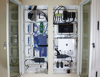 structured wiring panel image