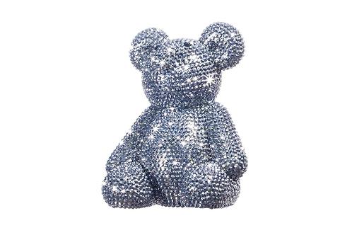 Rhinestone Teddy Bear Bank