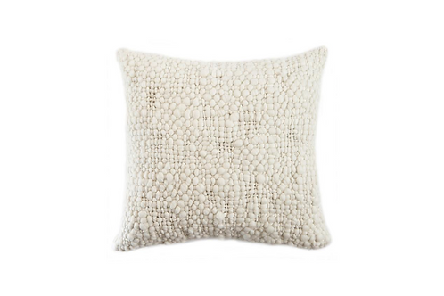 Bubbly Knit Throw Pillow