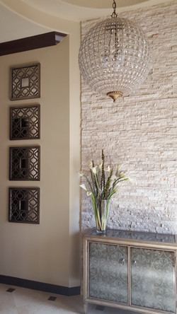 Stone & Tile Accent Wall, Fort Lauderdale, FL