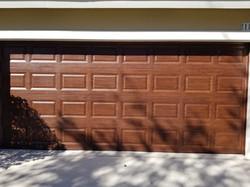 Garage Door Wood Graining
