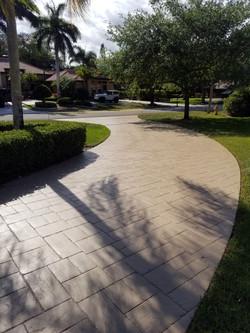 Driveway Painting, Parkland, FL