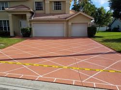 Driveway Concrete Staining_Fort Lauderdale, FL