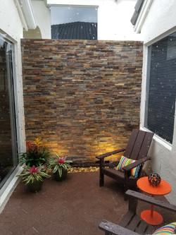 Decorative Stone Wall, Delray Beach, FL