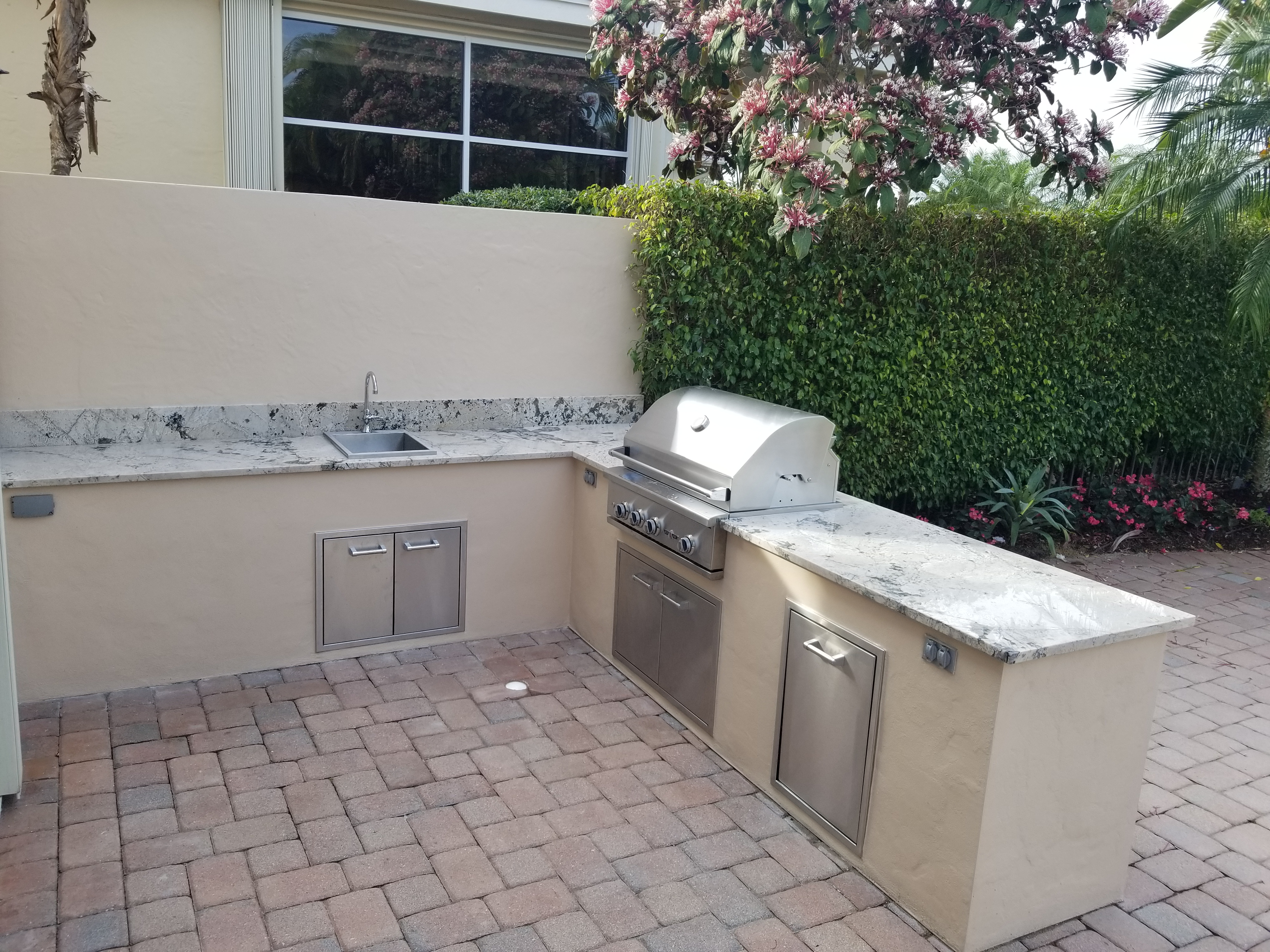 Exterior Cabinets for Grill, Coral Springs, FL
