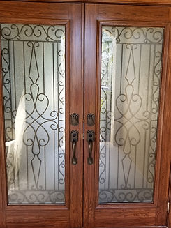 Front Door Wood Graining, Boca Raton, FL