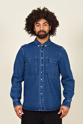 Amares, Heavy Denim Over-Shirt