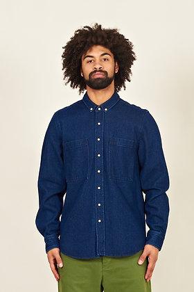 Amares, Heavy Denim Over-Shirt