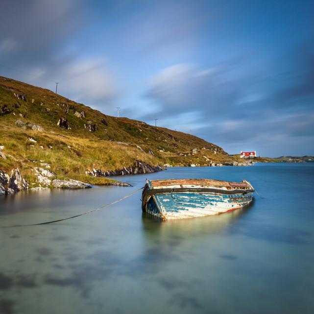 Fishing Boat, Wreck, Barra, Western Isle