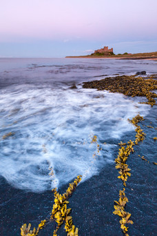 Late Evening, Bamburgh castle, Northumbe