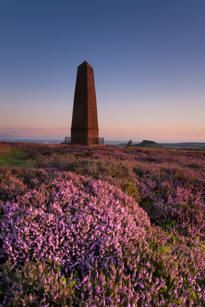 Captain Cooks Monument, Easby Moor, Nort