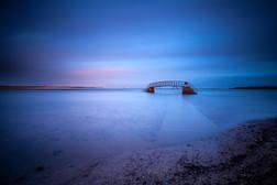 Bidge to nowhere, Belhaven, East Midloth