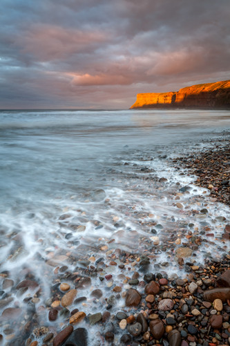Hunt Cliff, Last Light, Saltburn-by-the-
