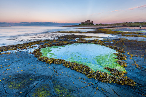 Low Tide & Bamburgh Castle, Bamburgh, No