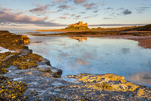 Late Evening & Bamburgh Castle, Dusk, Ba