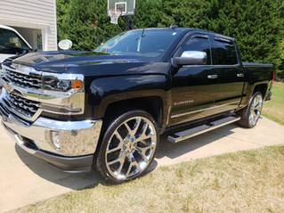 Chevy Pickup Truck Detailing