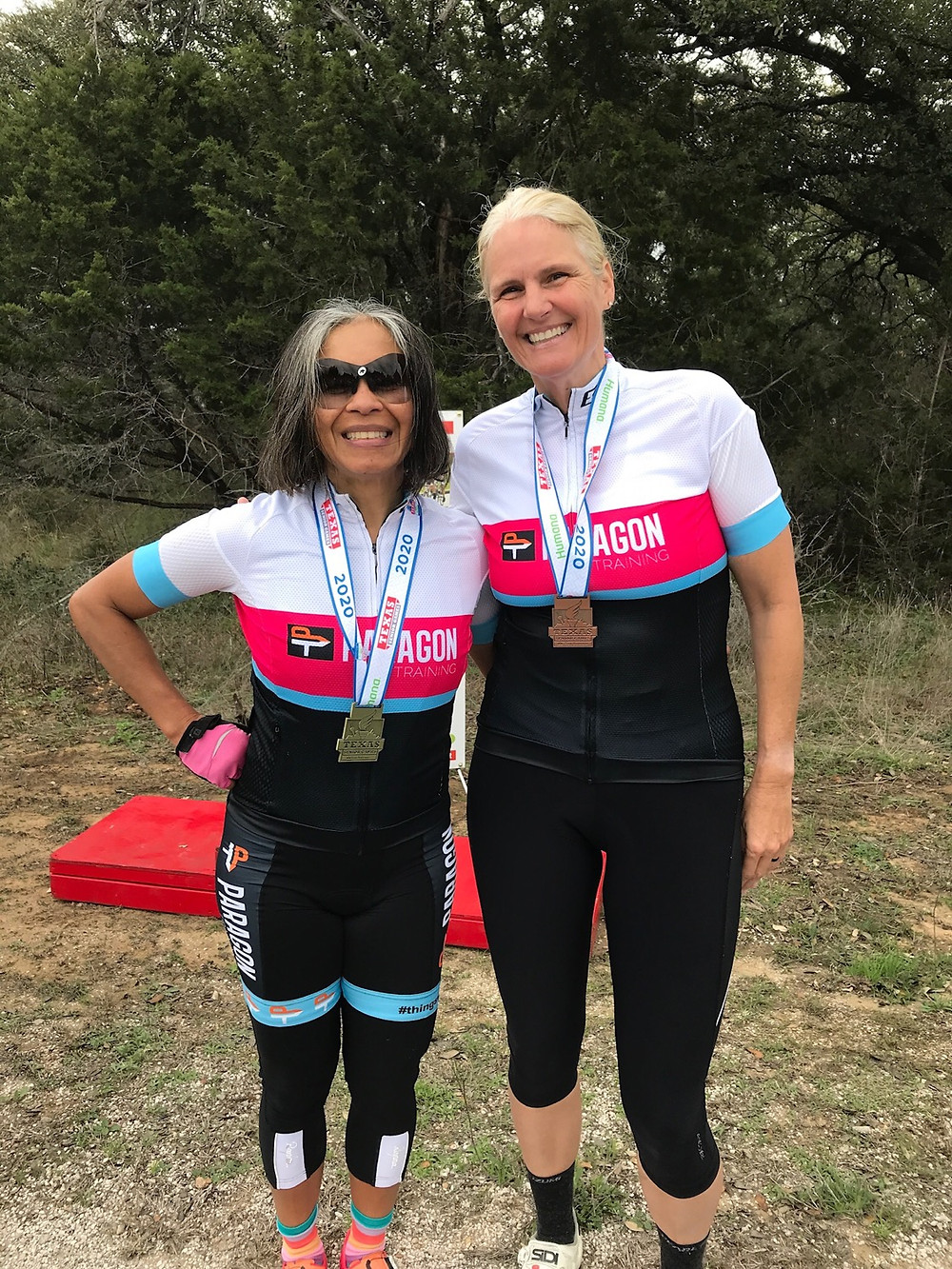 Anna Kurz and Robin Golden win events at the Texas Senior Games