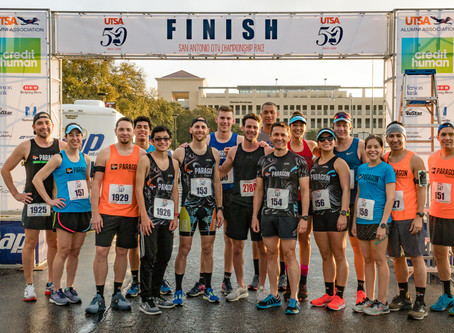 Team Paragon Runs Strong at Diploma Dash