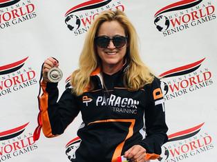 O'Shea Wins Silver Medal at Huntsman World Games