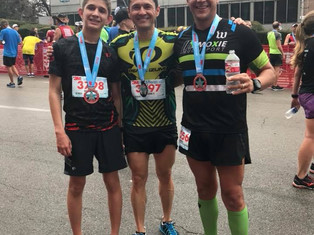 Three Paragon Men at the 3M Half