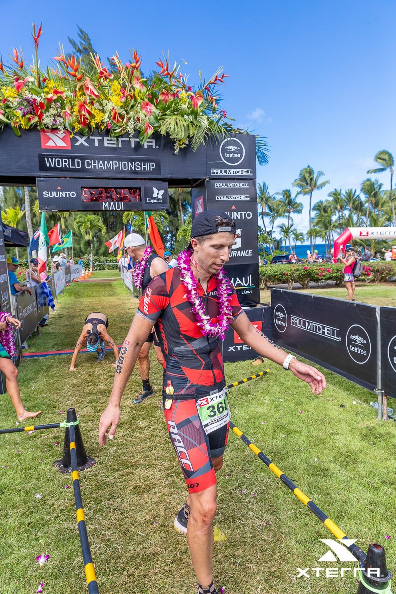 2019 Xterra Worlds Finish Line