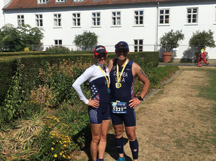 Ruderman and Correa Race on the World Stage in Denmark