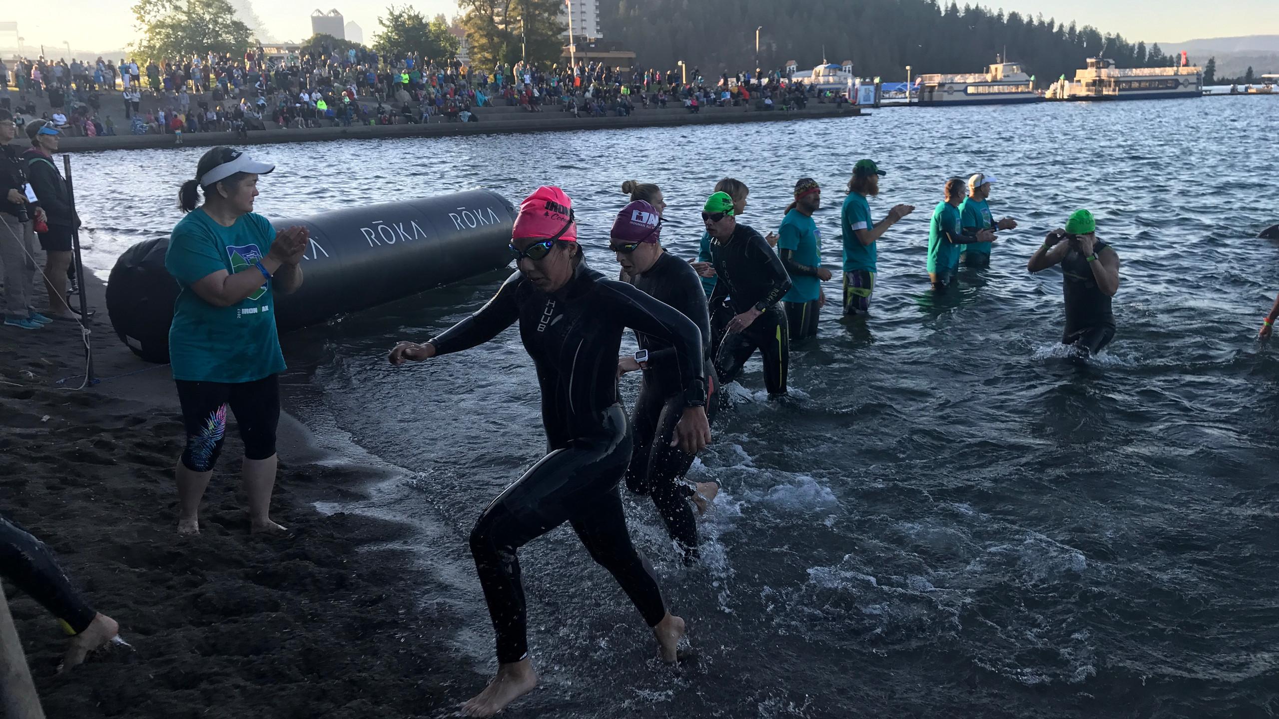Valerie Exits Swim