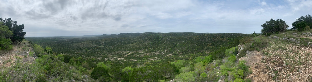 Beautiful triathlon training location in the texas hill country