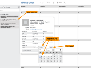 How to Apply a Training Plan to Your Trainingpeaks Account